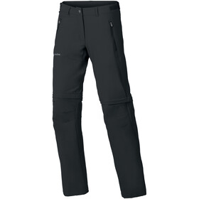 VAUDE Farley Stretch Zip-off-housut T-Zip Naiset, black